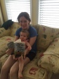 Here we are with your book! Jen & Hekla